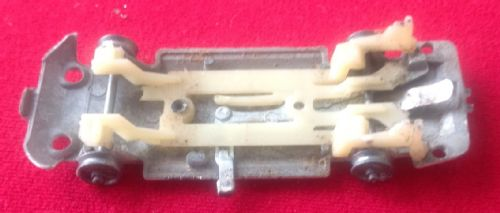 Corgi #336 - Original - James Bond Toyota 2000 GT - Baseplate ( With rear inside metal strip which is often missing )